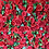 deep red flower wall, red flower wall, red roses flower wall