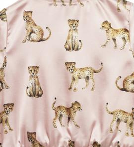 cheetah pattern, pink, Karolina Kijak H&M