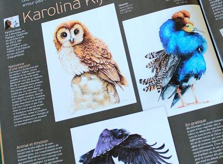 Publikacja we Francuskim magazynie Pratique des Arts