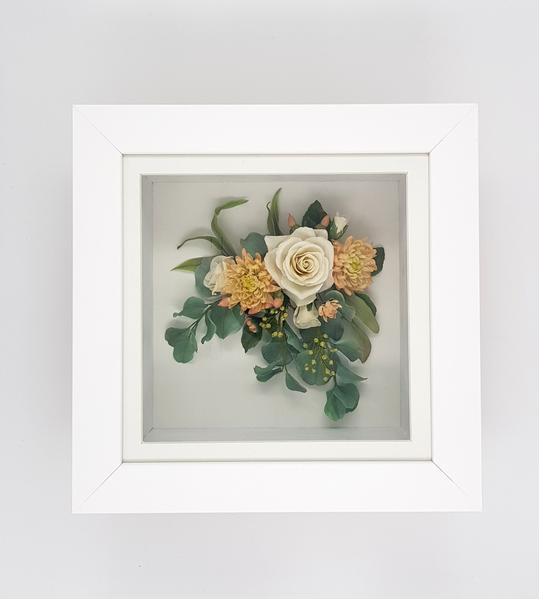 Framed flower recreations