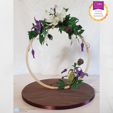 Gold Award winning sugar flowers