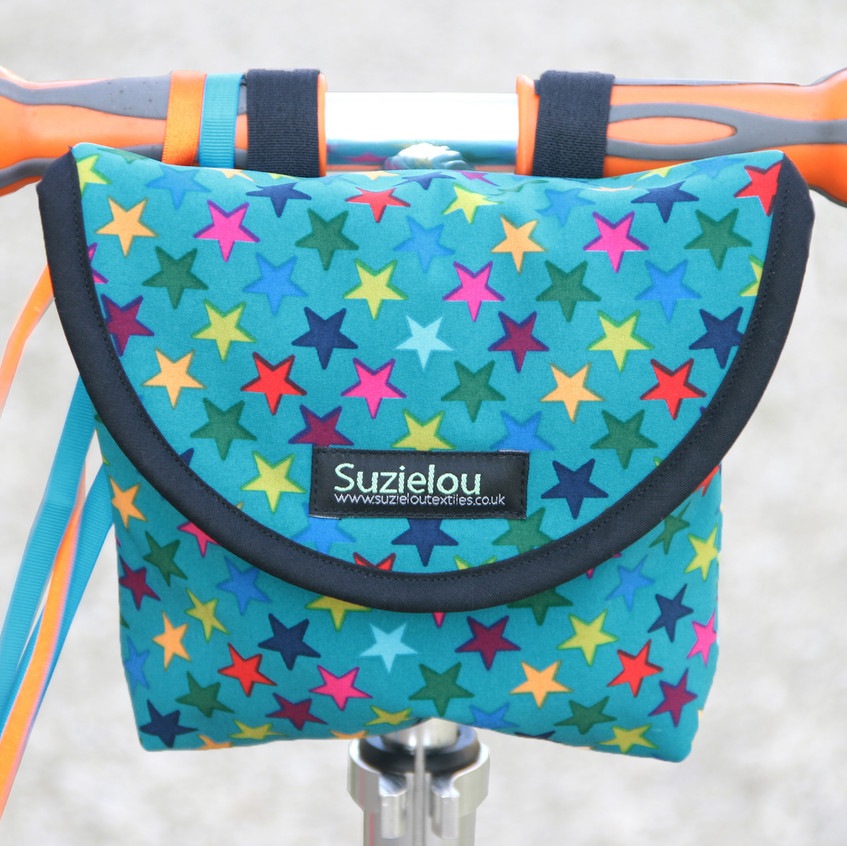 Turquoise Star kid's scooter bag