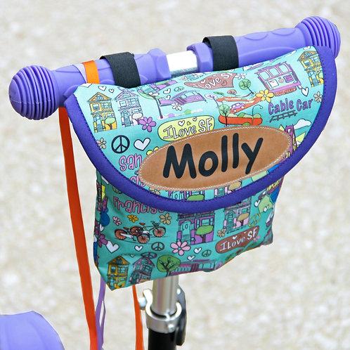 Personalised Child's San Francisco City Handlebar Bag