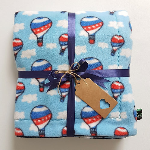 Air Balloon Baby Blanket