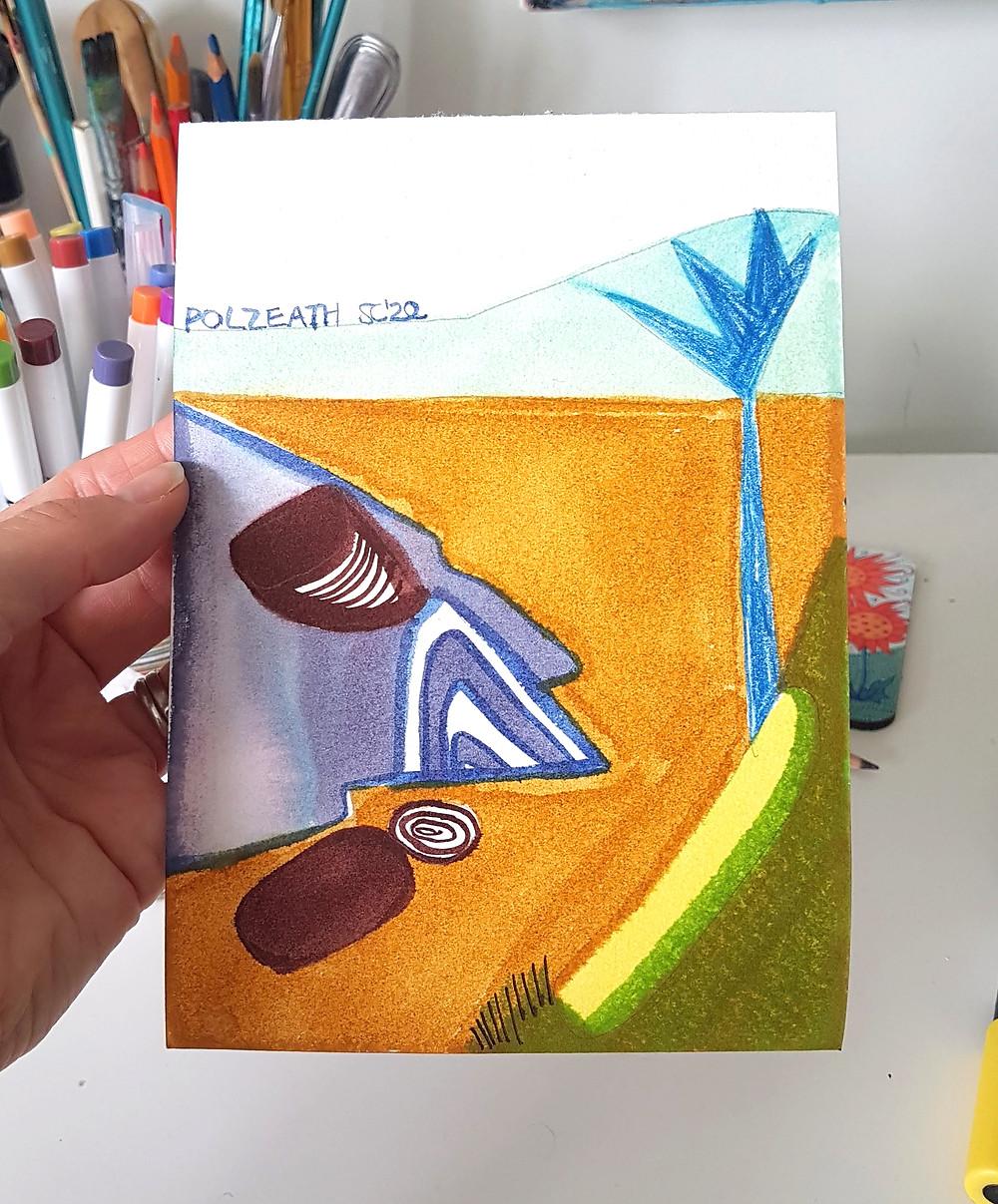 Polzeath by Suzie Cumming