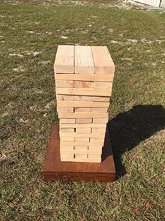 Custom Wood Block Game
