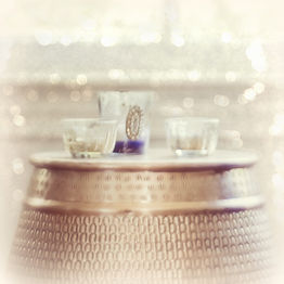 goldtone drum with candles.jpg