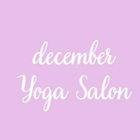 The Yoga Salon-December