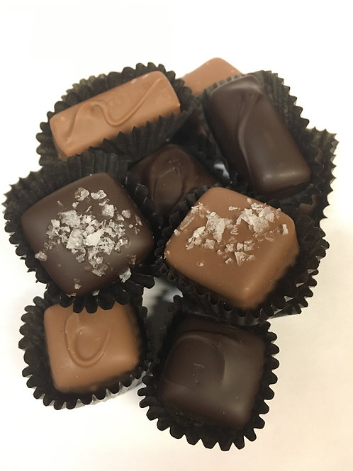 Chocolate Covered Caramel Centers
