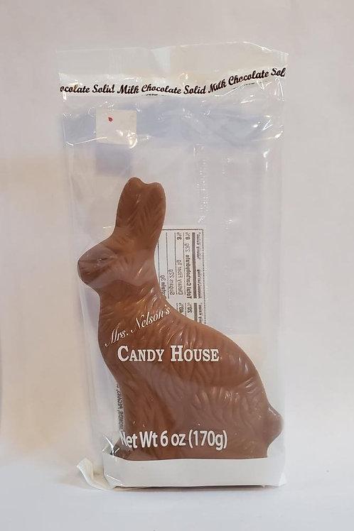 6 oz. Solid Chocolate Bunny