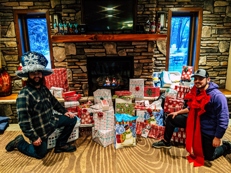 Flock Wine Club Members Become Santa Claus for Area Children