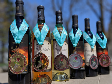 Round Lake Vineyards & Winery Wins Double Gold and Goes 6 for 6 in International Wine Competition
