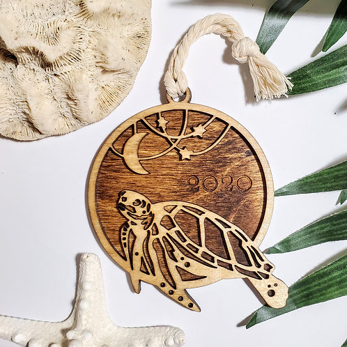 Birchwood Sea Turtle 2020 Ornament