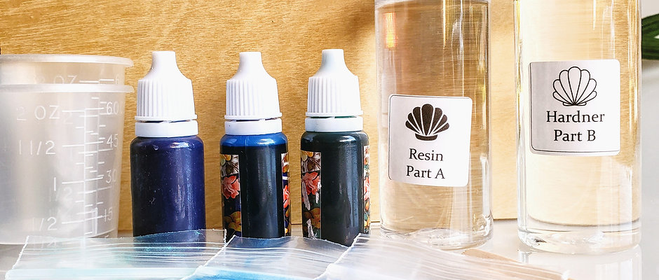 Beginners Ocean Resin Kit