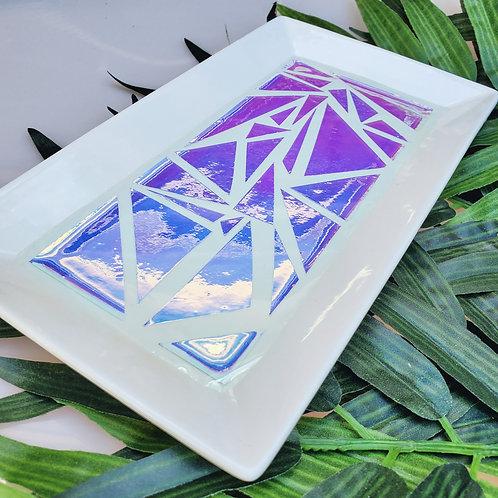 Geometric Ceramic tray