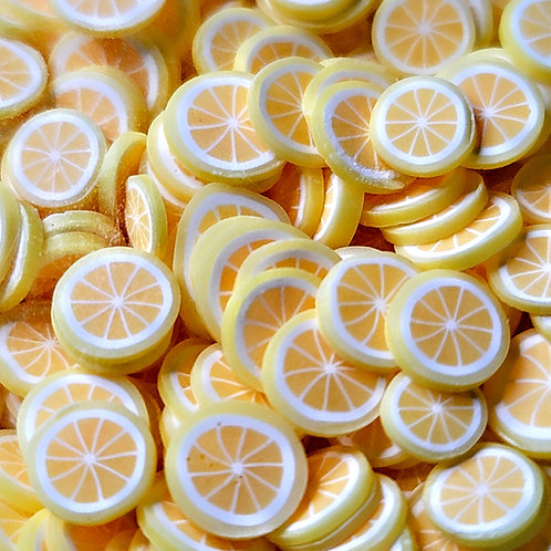 Lemon Fruit Slices- Mold Fillers