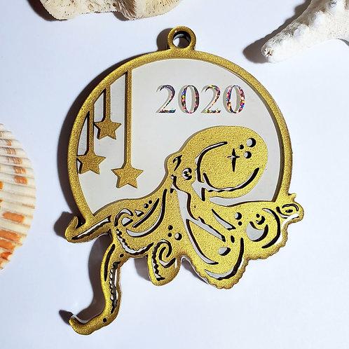 Octopus 2020 Ornament