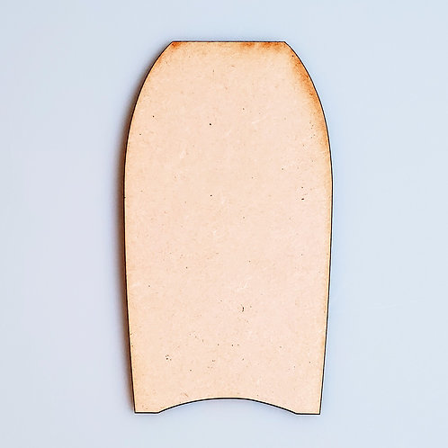 Boogie Board Unfinished MDF Laser Cutout