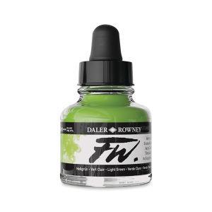Light Green- Daler-Rowney FW Acrylic ink