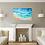 Thumbnail: Custom Resin Ocean Wall Art Panel