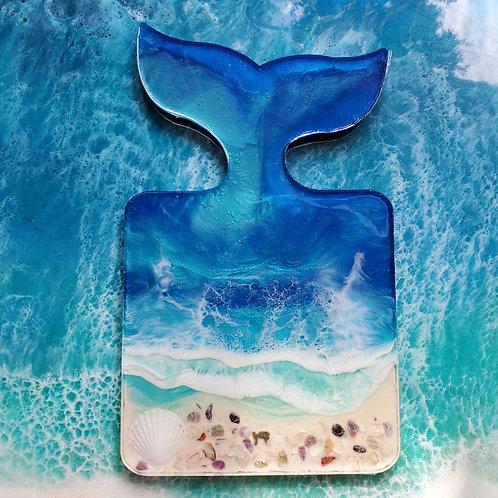 Mermaid Tail serving board