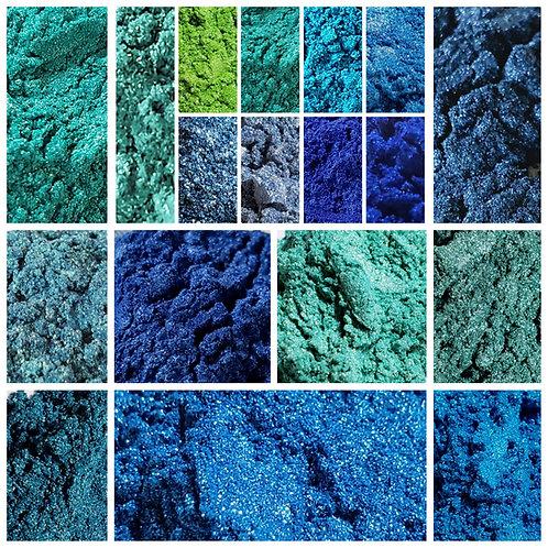 Complete Ocean Mica Pigment Set of 20