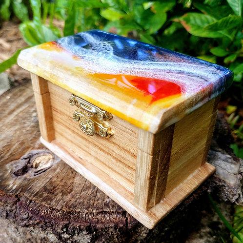 Wooden Treasure/Ring box