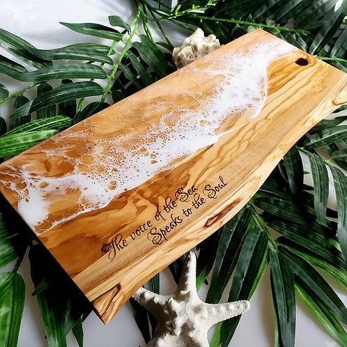 Sea Soul Olive Wood Cutting Board