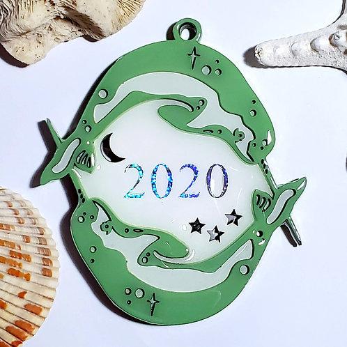 Narwal 2020 Ornament