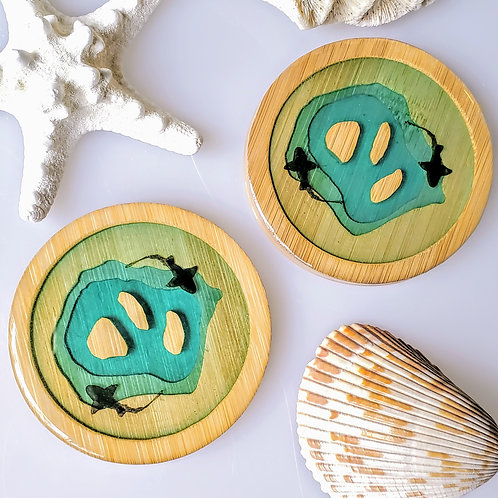 Shark Island Coasters Set of 2
