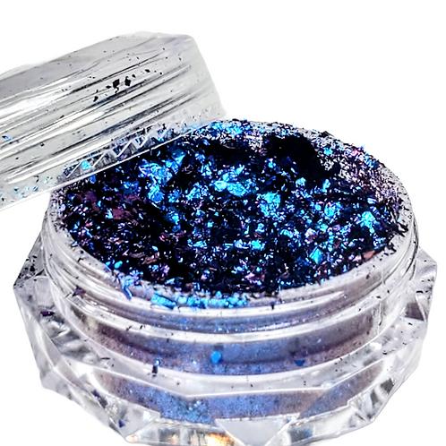 Blue/Purple Chameleon Mica Flakes