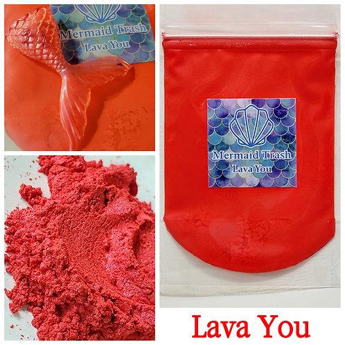 Lava You Mica Pigment