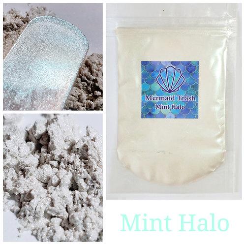 Mint Halo Mica Pigment