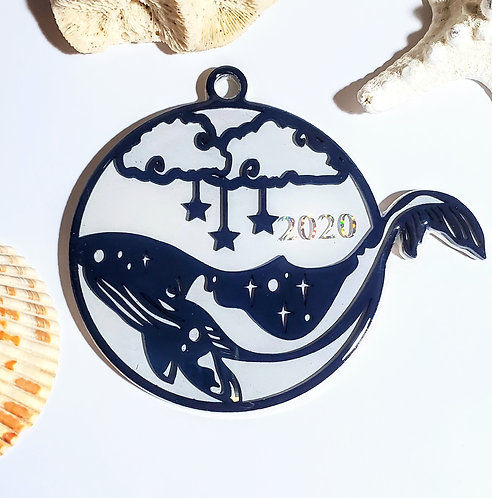 Whale 2020 Ornament
