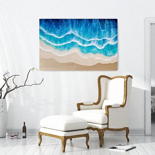Custom Resin Ocean Wall Art Panel