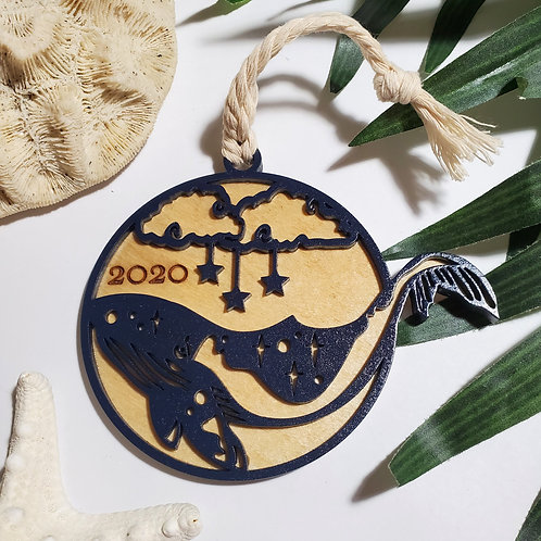 Birchwood Whale 2020 Ornament