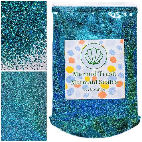 Mermaid Scales- Rainbow Holographic Extra Fine Glitter