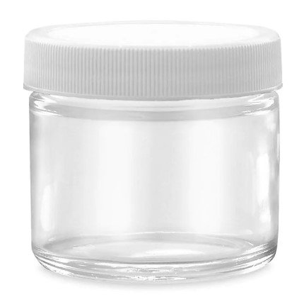 1oz Clear Mica Storage Container- Set of 3