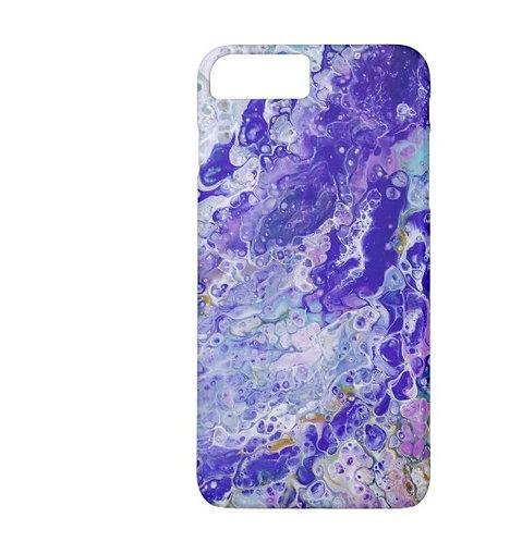 Going Under fluid art phone case