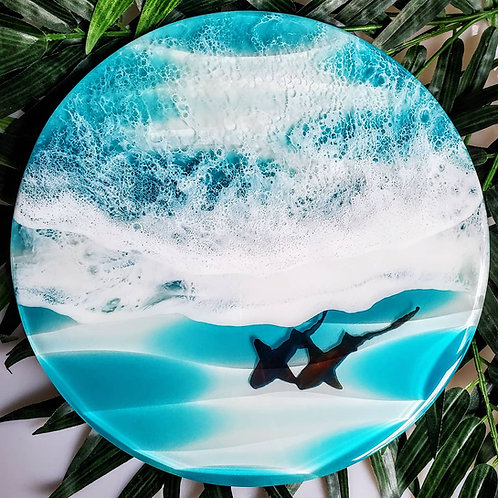 Key West 3D Wave Round