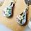 Thumbnail: Sand Dollar Star earrings