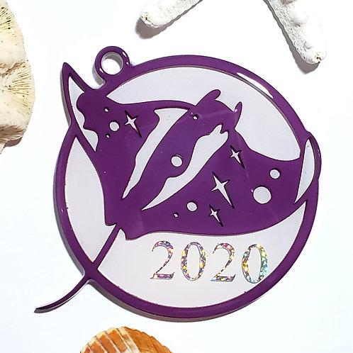 Manta 2020 Ornament