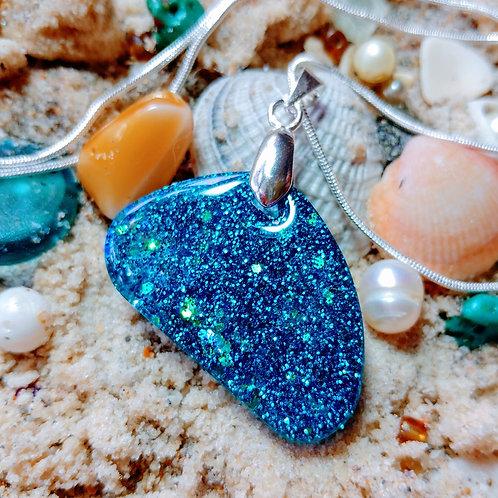 "Signature ""Siren"" Save the Sea Pendant Necklace"