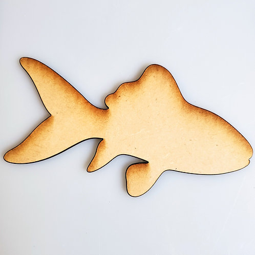 Snapper Fish Unfinished MDF Laser Cutout