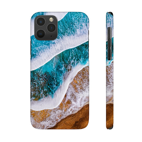 Slim Phone Case- Endless Motion Ocean