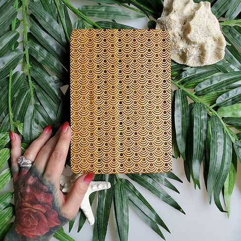 Mermaid Scale Bamboo serving board
