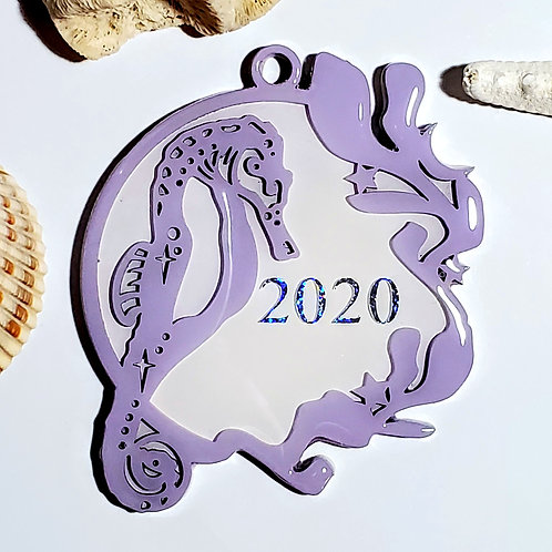 Seahorse 2020 Ornament