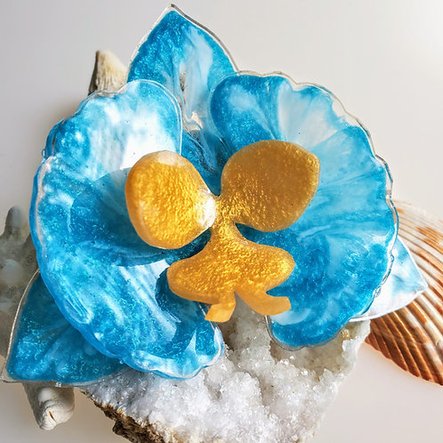 3D Flower Hair Clip