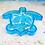 Thumbnail: Lrg Turtle Dish Silicone Mold