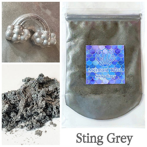 Sting Grey Mica Pigment
